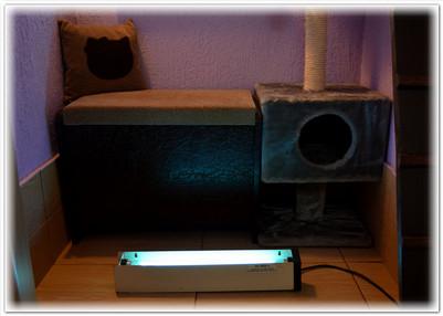 обработка бактерицидной лампой